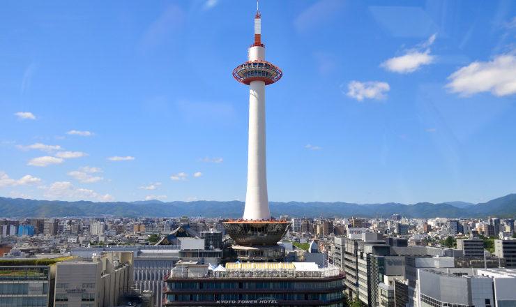 チラシ印刷京都市内でナンバー1(京都タワー)
